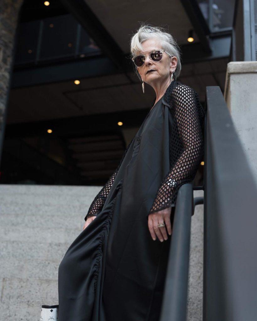 Accidental Icon,  64-letnia pani profesor Lyn Slater i jednocześnie blogerki modowej.