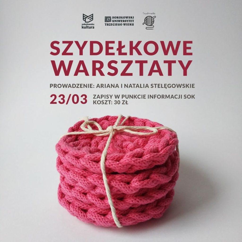 Sokołowski Uniwersytet Trzeciego Wieku szydełkowe warsztaty