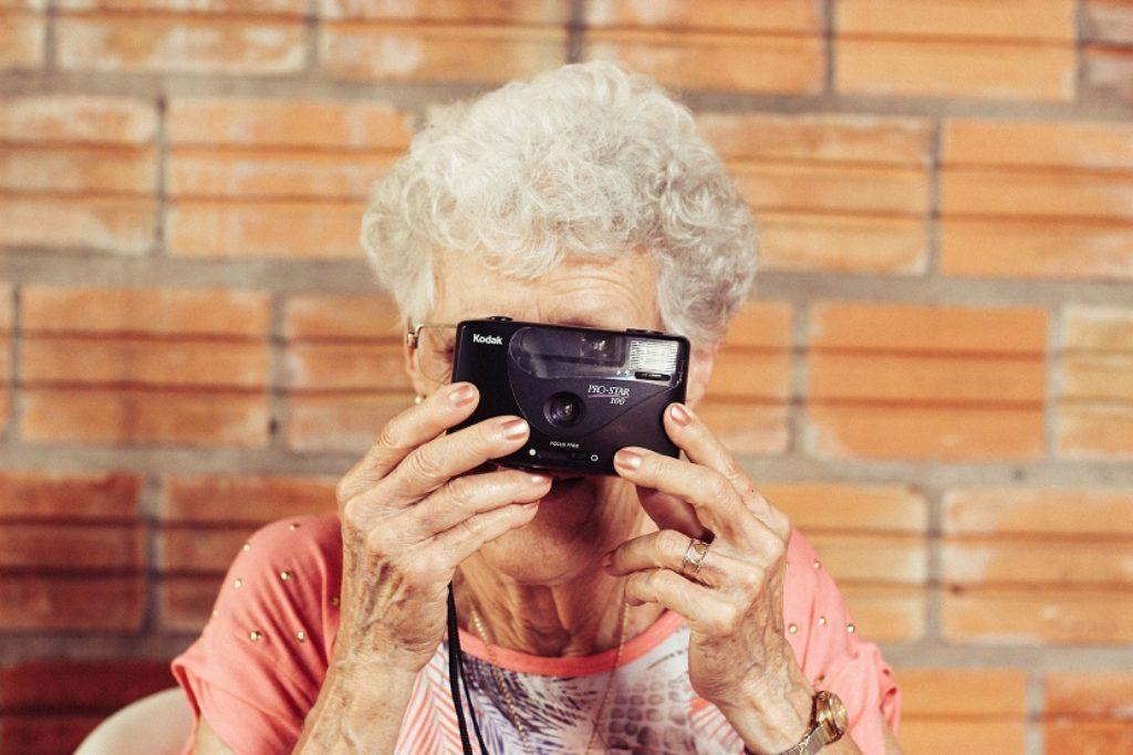moda na seniora