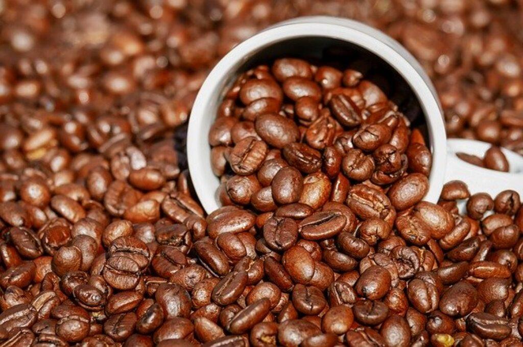 Wilgotność w lodówce może zmienić smak ziaren kawy, więc lepiej trzymać je szczelnie zamknięte w spiżarni.